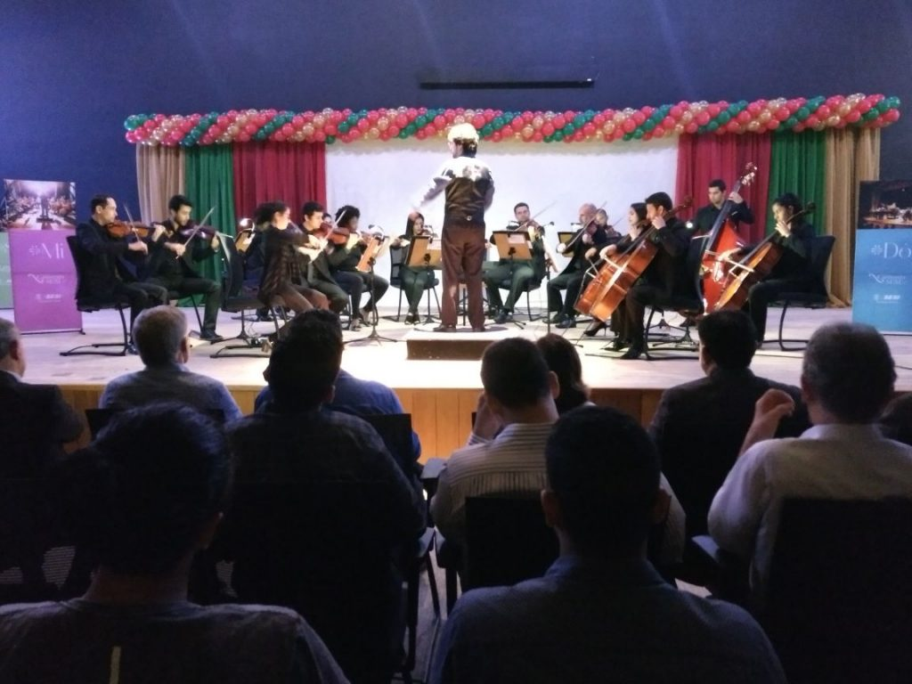 Camerata Sesi apresenta concerto de Natal em Aracruz