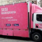 Unidade Móvel de Mamografia atende trabalhadoras do Grupo Guidoni em São Domingos do Norte